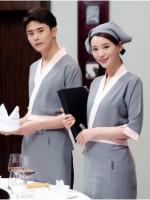 饭店蛋糕快餐店西餐厅饭店火锅店餐饮服装服务员工作服上衣87-1003男