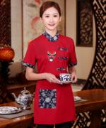 西餐厅饭店火锅店餐饮店服务员工作服脸谱WHX-C0205014