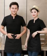 西餐厅饭店火锅店餐饮服务员短袖YLYS-1911