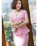 修身职业装套装裙外套加裙LLY-706-7728