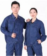 透气吸汗耐磨电焊汽修车间工厂服工程服拉链牛仔套装33-D0103003