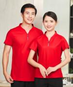餐厅服务员短袖工作服上衣YLYS-2020-9
