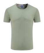 180g40支纯棉圆领短袖T恤67-Y8001