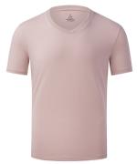 180g40支冰瓷棉螺纹V领短袖T恤通款YDD-3622