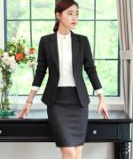 西装套装时尚通勤职业气质修身商务女士优雅外套加西裙113-8228套裙