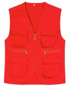 多口袋工程马甲志愿者工作服团体服无袖纯色马甲ZH-TM1601