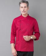 厨师工作服长袖防水酒店餐饮后厨师服YLYS-18197
