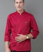 厨师工作服长袖防水酒店餐饮后厨师服YLYS-18193