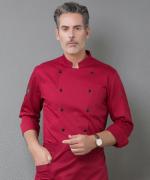厨师工作服长袖防水酒店餐饮后厨师服YLYS-18190