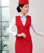 女空姐制服职业套装艺校酒店前台美容师工作服173-209马甲-5246衬衣-339短裙