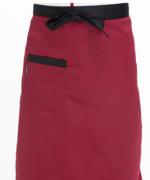 工作服时尚家用厨房服务员半截围裙大半截121-E0201003