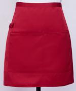 工作服时尚家用厨房服务员半截围裙超短半截121-E0201002