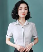 女士都市白领修身商务通勤气质优雅职业装衬衫YS-A059