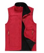 时尚精品户外马甲透气保暖背心复合绒软壳冲锋衣马甲ZH-BS5003
