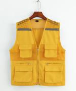 志愿者义工渔网多口袋透气马甲XS-1902