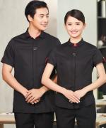 酒店服务员短袖工作服上衣YLYS-2020-7