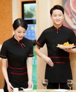 凤尾花服务员服短袖上衣45-8839-8852