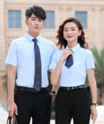 房地产银行4S店销售工作服短袖男女款衬衫YL-299