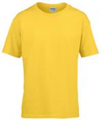 180g纯棉显瘦柔软杰丹童款圆领短袖T恤CS-76000B