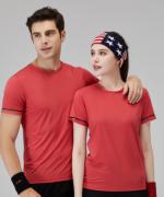 190g运动休闲圆领短袖T恤通款 158-247
