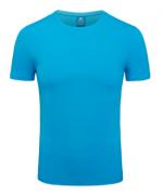 180g40支纯棉圆领短袖T恤男款67-YL08
