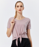 运动休闲透气圆领T恤女款 32-F291