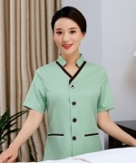 V领保洁服上衣87-2010