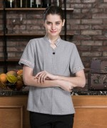 织带保洁服短袖上衣LYDS-20F309-310