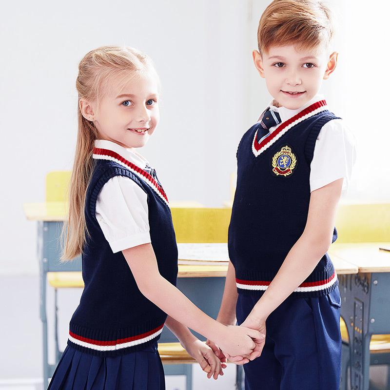 小学生儿童英伦风秋冬校服套装BL-0301ZX