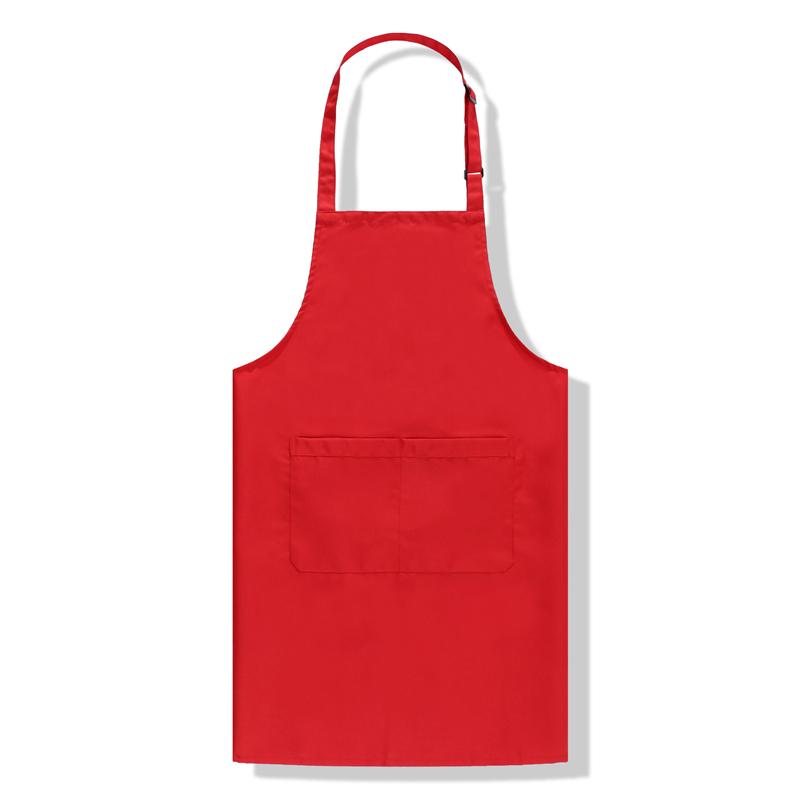 200g荷叶式防水防油调节扣挂脖围裙 CFWQ09