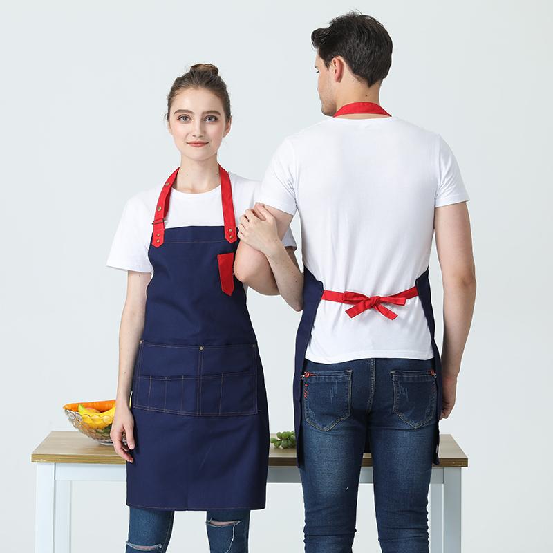 中餐厅服务员帆布围裙HY-8825