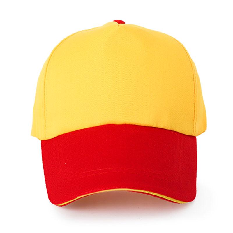 纯棉斜纹拼色帽95-0108