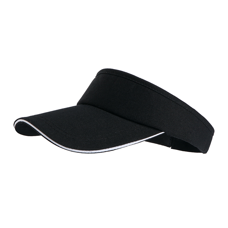 全棉户外运动魔术贴空顶帽TS-805