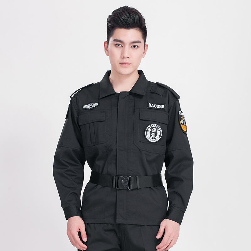 斜纹棉长袖作训特勤服上衣(送配件)AGR-N013