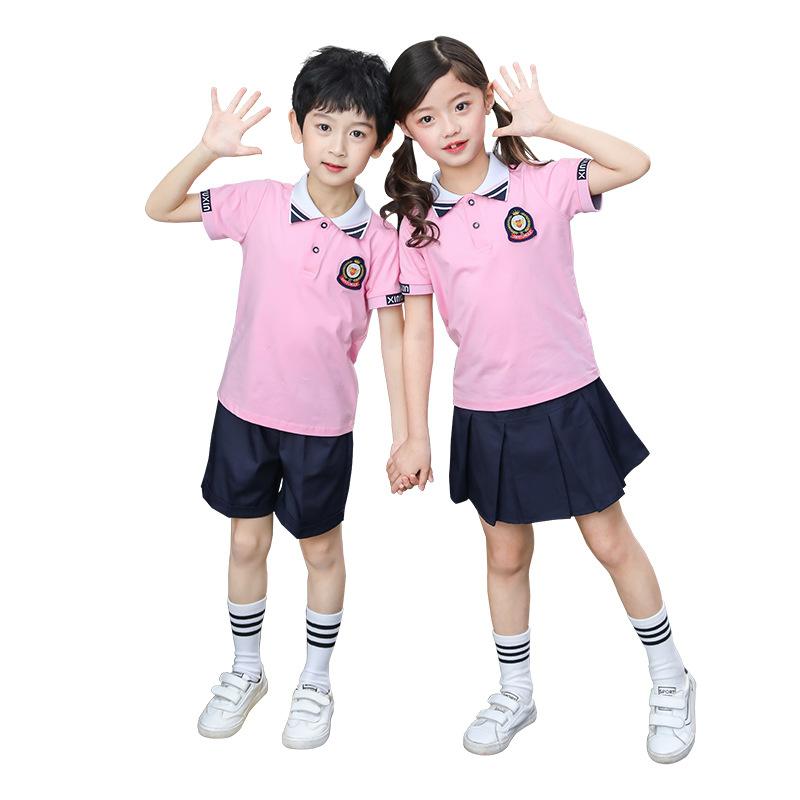 英伦风中小学生校服立领儿童套装36-TL209
