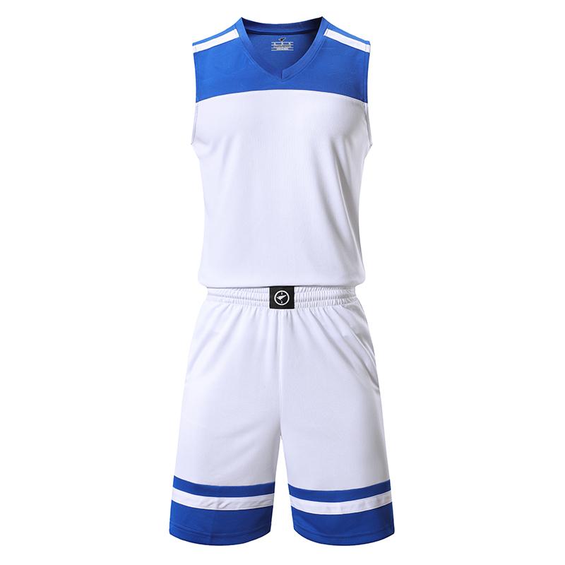 速干透气蓝球服套装成人SY-LQ2005