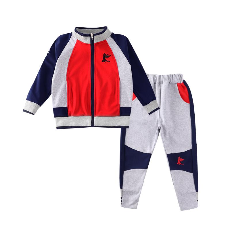 中小学生校服儿童班服套装春秋装中学生学院风运动校服两件套ML-917