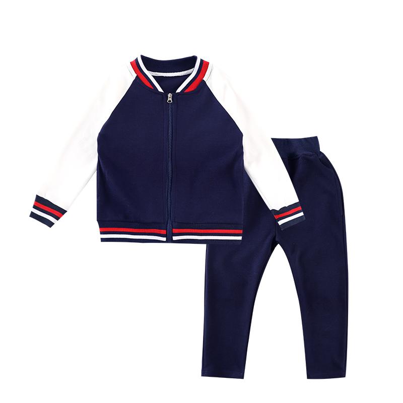 中小学生校服儿童班服套装春秋装中学生学院风运动校服两件套ML-919