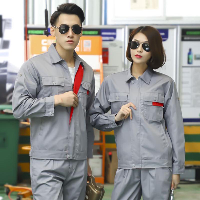 全工艺涤棉细斜纹小拉链工装外套SDF-SL301-SL303外套