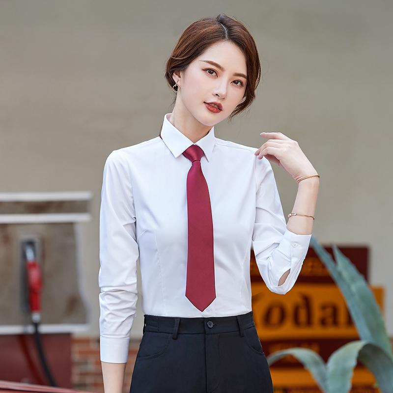 商务修身职业正装长袖衬衫YRM-T0L21-TL0218