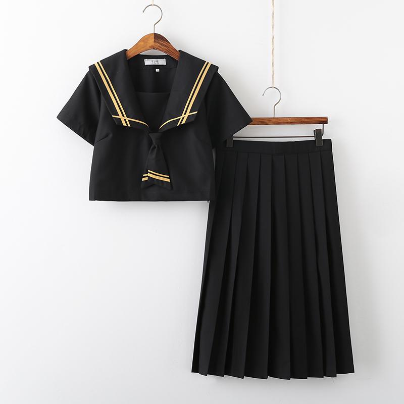 日系正统JK制服水手服套装亲子二本150-M021