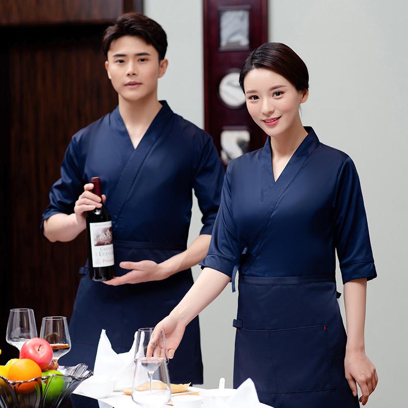 餐饮服装中式和服(送围裙)87-2015男