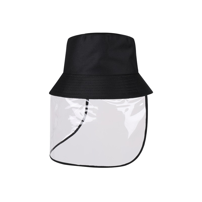 PVC加涤棉防飞沫防晒渔夫帽TS-810