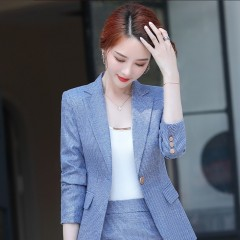 职业正装修身单扣西装外套女170-9537外套